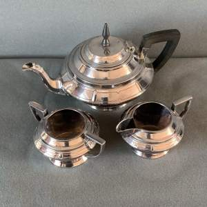 Silver Plated Art Deco Tea Set
