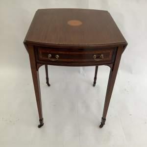 Edwardian Inlaid Pembroke Table