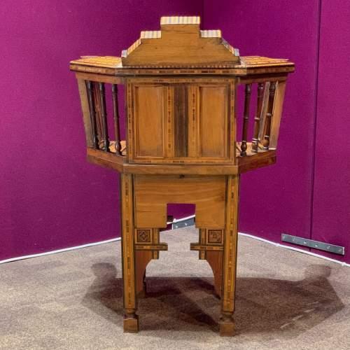 Moorish Syrian Inlaid Chair image-3