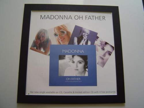 4 x Madonna Original Rare Posters In Mounts Ready To Frame image-2