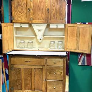 Vintage Easiwork Oak Kitchen Dresser