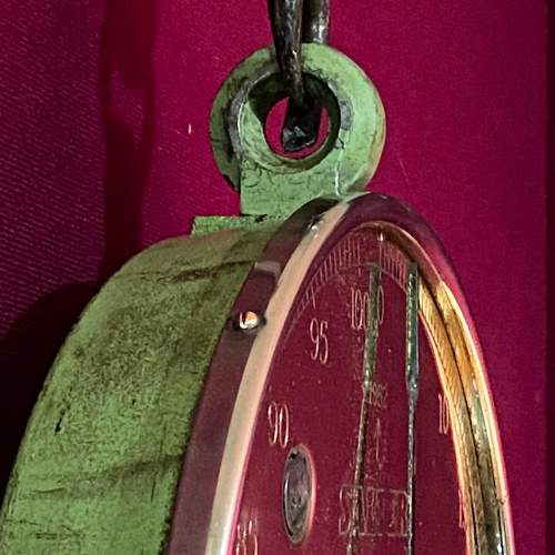 1952 Salter Round Hanging Scales image-6
