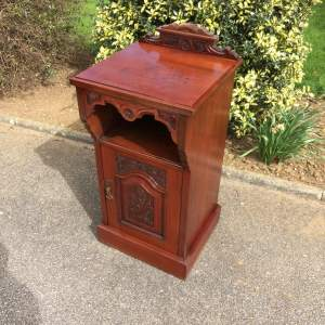 Victorian Walnut Pot Cupboard