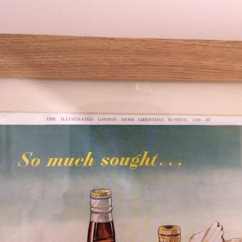 Illustrated London News 1949 Haig Whisky Framed Advert image-3