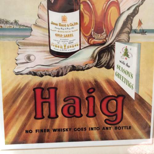 Illustrated London News 1949 Haig Whisky Framed Advert image-4