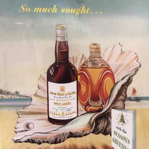 Illustrated London News 1949 Haig Whisky Framed Advert image-5