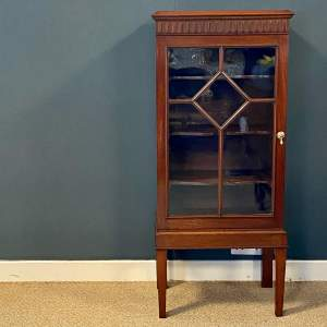 Early 20th Century Mahogany Display Cabinet
