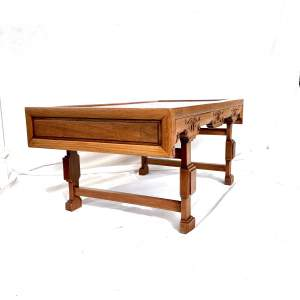 A Chinese Hardwood Low Tea Table
