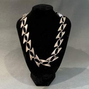 Rare Georg Jensen Design no 273 Silver Necklace