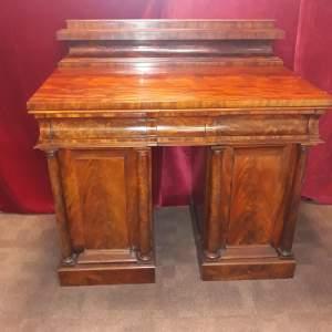 A Fine Regency Twin Pedestal Sideboard