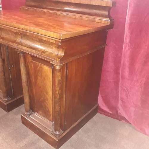 A Fine Regency Twin Pedestal Sideboard image-3