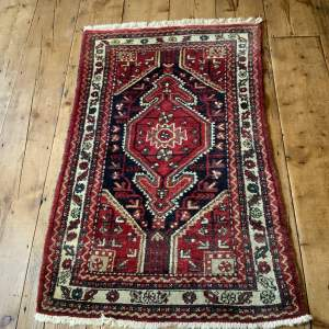 Old Hand Knotted Persian Rug Tuiserkhan