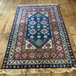Stunning Old Hand Knotted Turkish Anatolian Rug Unusual Colours