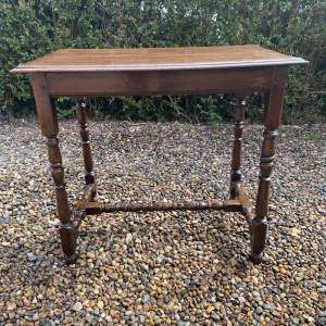 18th Century Oak Peg Jointed Table