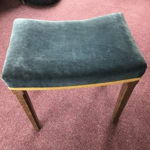 A 1953  Queen Elizabeth Coronation Stool by Glenister