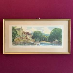 Archbishops Palace - Bishopthorpe York Railway Carriage Print