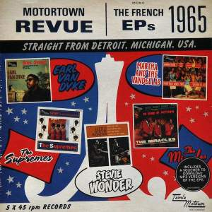 Motown Various – Motortown Revue The 1965 French EPs Box 5 x 7in