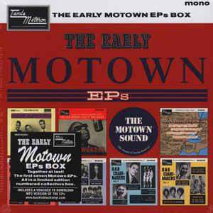 Various – The Early Motown EPs Box  - Box 7 x 7in