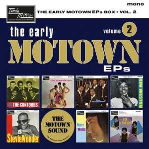 Various – The Early Motown EPs Box Volume 2   - Box 7 x 7in