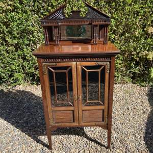 Lovely Victorian Classical Two Door Cabinet