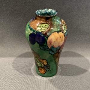 Titian Ware Vase by S Hancock and Sons