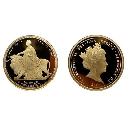 2019 Alderney Una and The Lion 200th Anniversary Sovereign image-1