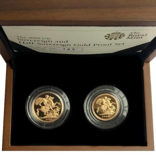 2009 Elizabeth II Gold Proof Coin Set image-1