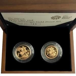 2009 Elizabeth II Gold Proof Coin Set