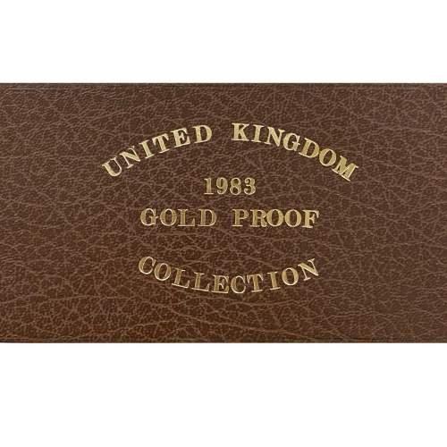 1983 Elizabeth II Gold Proof Three Coin Set image-2