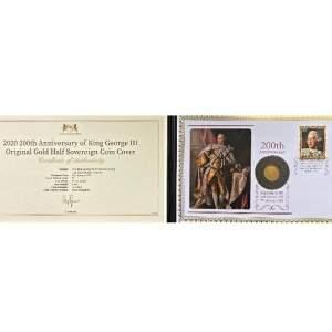 1817 George III Gold Half Sovereign