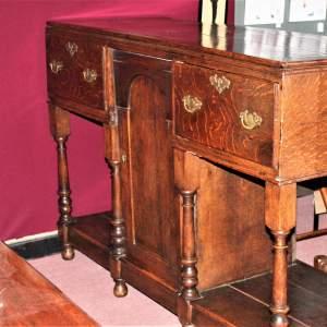 Country House Style 18th Century English Oak Dresser Base