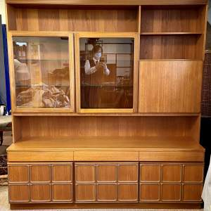 Mcintosh Retro Room Divider with Drinks Cabinet