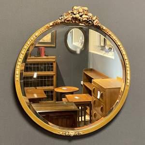 Vintage Barbola Wall Mirror