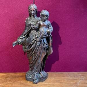 19th Century Wood Carving