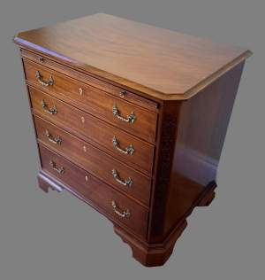 A Quality George III Style Chest of Drawers
