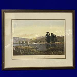 Signed Limited Edition Print Dawn by Gerald Coulson