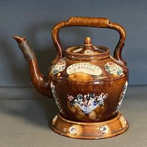 Measham Bargeware Cottage Teapot