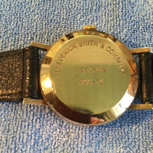 Garrard 9ct Gold Automatic Gents Wristwatch with Date image-3