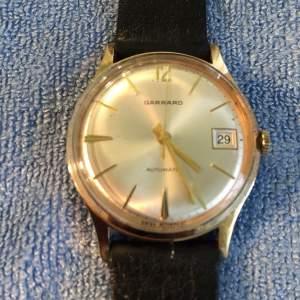 Garrard 9ct Gold Automatic Gents Wristwatch Plus Date