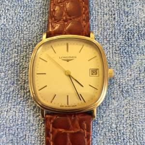 Gents Gold Plated Manual Wind Wristwatch By Longines