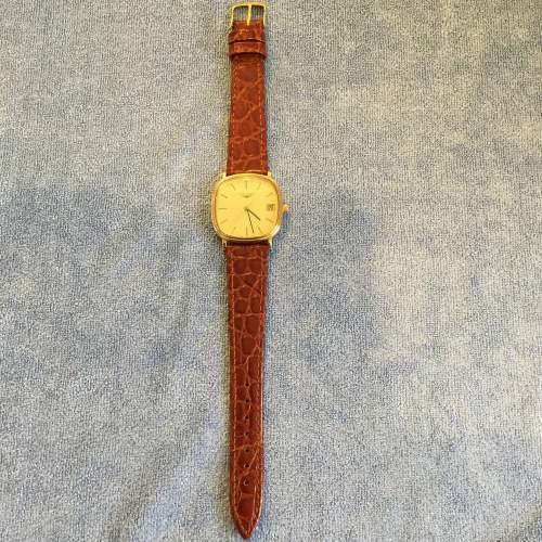 Gents Gold Plated Manual Wind Wristwatch By Longines image-4
