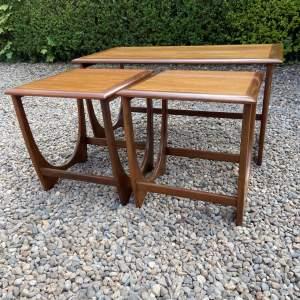 Stylish G-Plan Teak Nest Of Tables