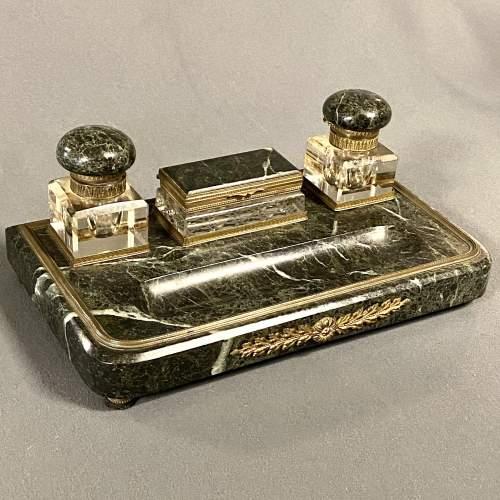 19th Century Marble Desk Set image-1