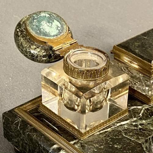 19th Century Marble Desk Set image-2