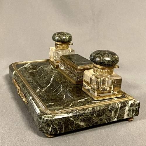 19th Century Marble Desk Set image-6