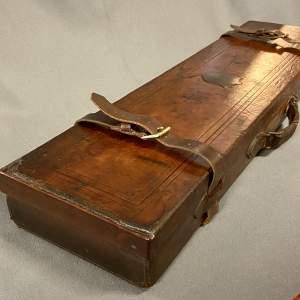 Leather Bound Shotgun Case by W Richard