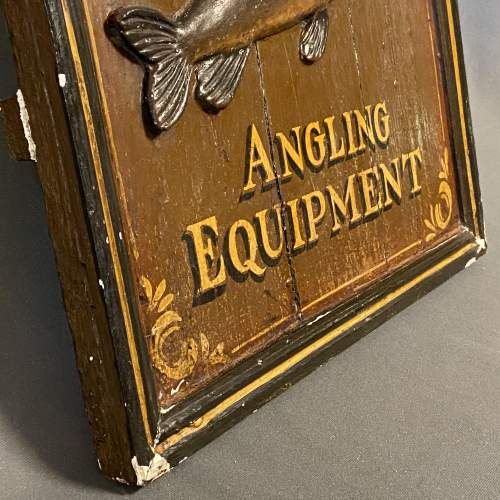 Late 19th Century Hardys Superior Angling Equipment Sign image-5