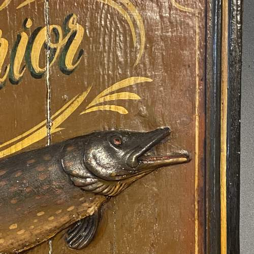 Late 19th Century Hardys Superior Angling Equipment Sign image-4