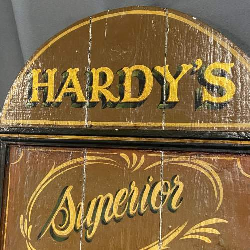 Late 19th Century Hardys Superior Angling Equipment Sign image-2