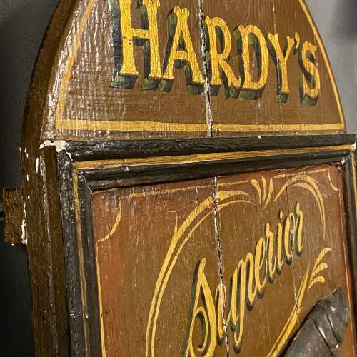 Late 19th Century Hardys Superior Angling Equipment Sign image-6